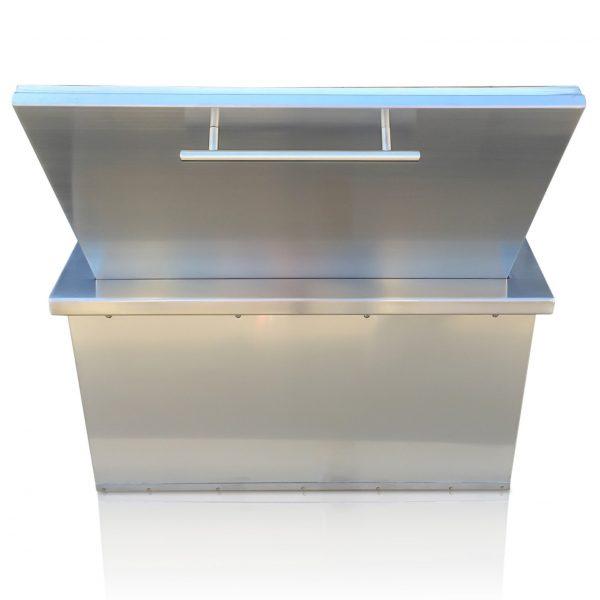 BBQ island ice cooler 04