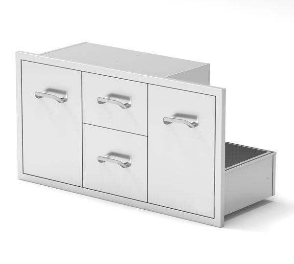 Multi storage drawer combo 01