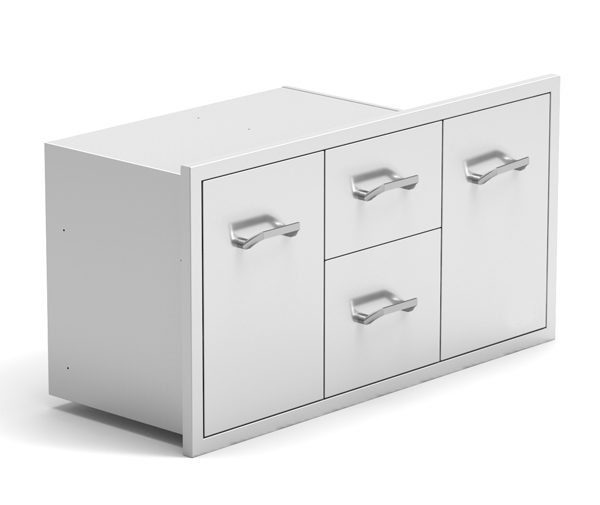 Multi storage drawer combo 02