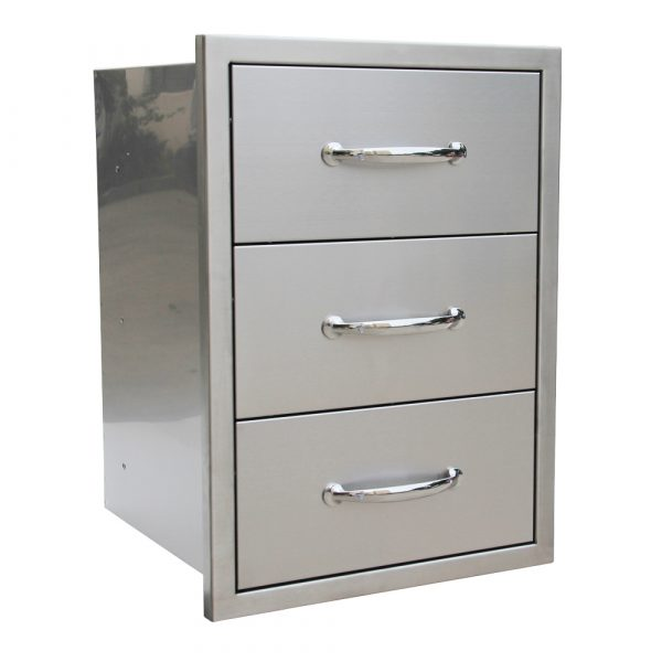 Triple access drawer 1