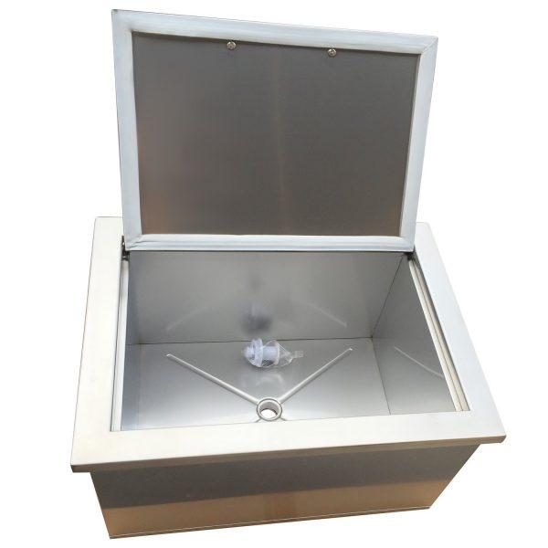 BBQ island ice cooler