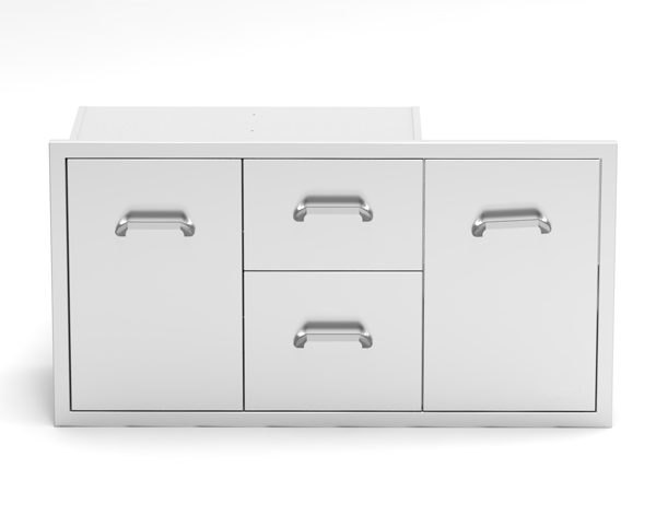 Multi storage drawer combo