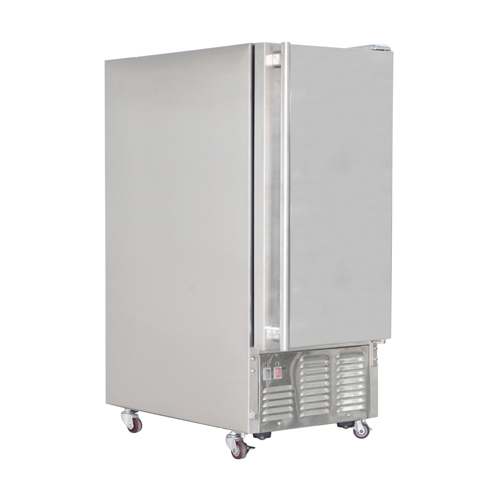 Outdoor ice machine