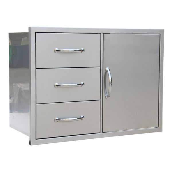 Triple drawer door combo 1