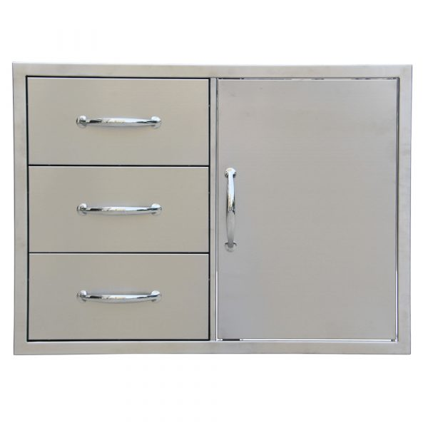 Triple drawer door combo 2