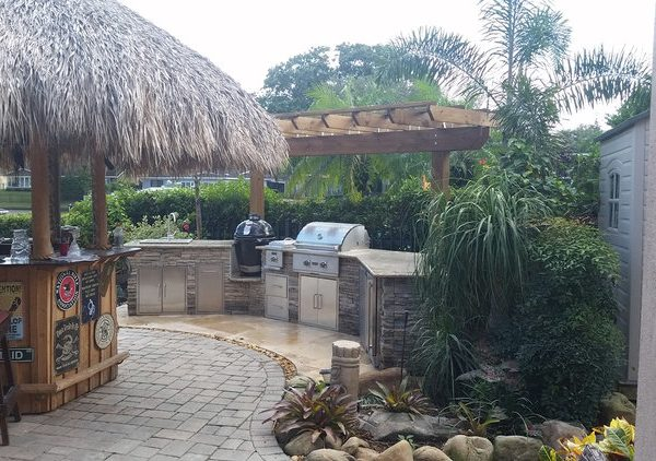 outdoor kitchen island 0111